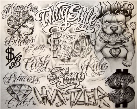 boog tattoo designs boog flash sheet script boog