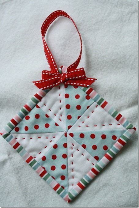 quilted ornament quilts pinterest