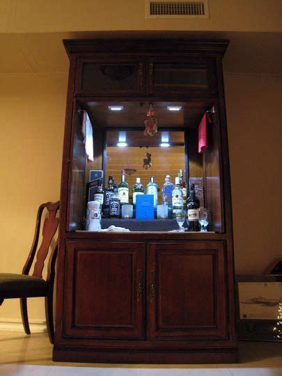 bar armoire cabinet sport touring net anyone ever convert an old armoire into a bar