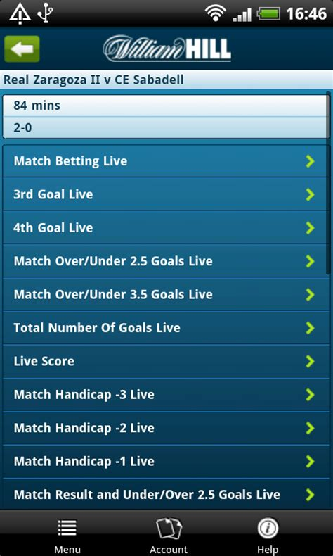 william hill mobile app uk bookmaker william hill launches betting app on android