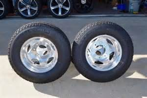 Dually Truck Tires For Sale Chevy 3500 Dually Oem Factory Wheels Set Of 6 Michelin At