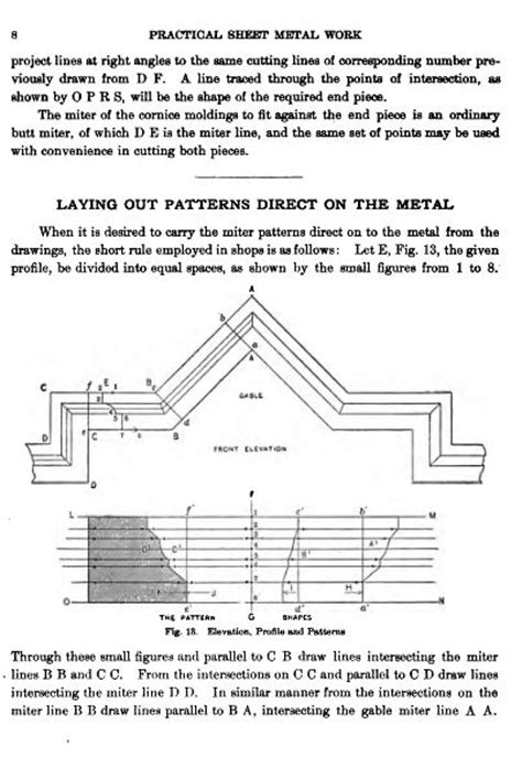 pattern drafting dvd sheet metal cutting tinsmithing pattern drafting work shop