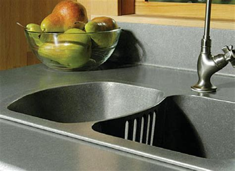 Scrap Metal Countertops by Home Dzine Kitchen Kitchen Countertop Options