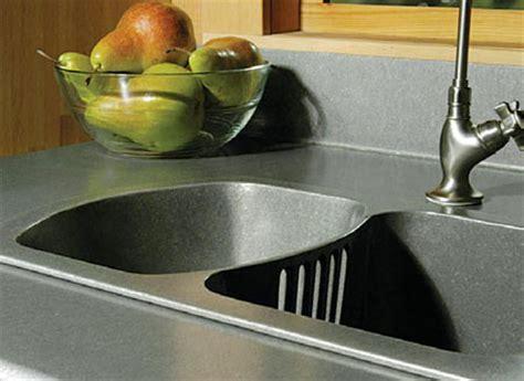 Scrap Metal Countertops - home dzine kitchen kitchen countertop options