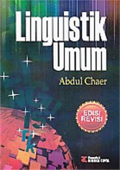 Kajian Bahasa Abdul Chaer toko buku rahma pusat buku pelajaran sd smp sma smk