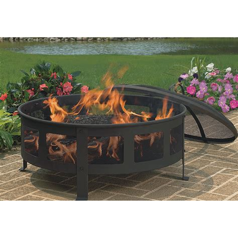 Firepit Reviews Cobraco Firepit Mesh Sides Model Fb6540 Firepits Patio Heaters Northern Tool