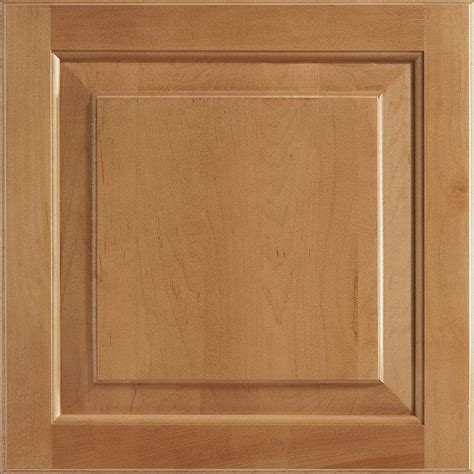 Spice Cabinets With Doors American Woodmark 14 9 16x14 1 2 In Cabinet Door Sle In Charlottesville Maple Spice 99845