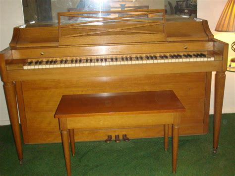 piano with bench baldwin acrosonic mid century upright piano with bench