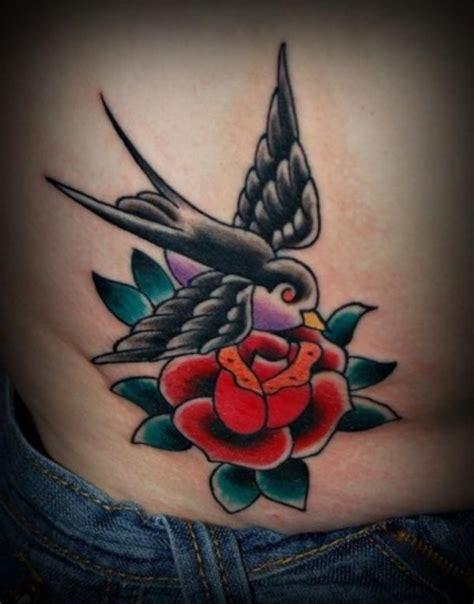 tattoo old school rondine tatuaggi ancore rondini rose dei venti old school