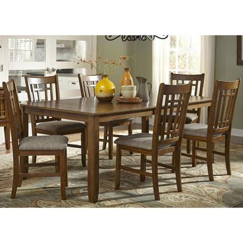 Furniture Santa Rosa by 25 T4282 Liberty Furniture Santa Rosa Oak Rectangular Leg Table