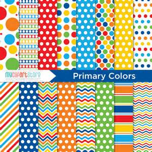 sesame primary colors digital paper primary colors back to school birthday
