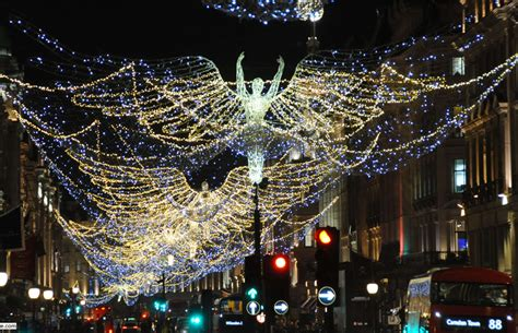 find out when london s christmas lights are being switched