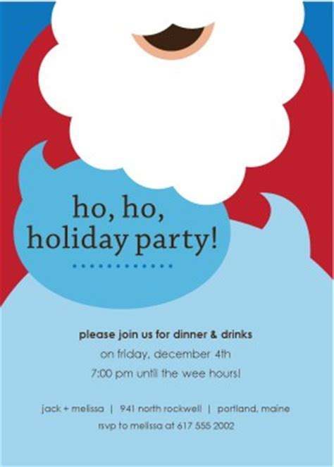 printable santa claus party invitation template