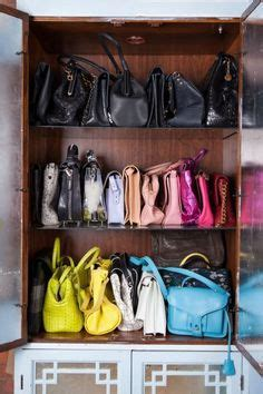 Purse Cabinet by 1000 Images About Bag Storage On Handbag