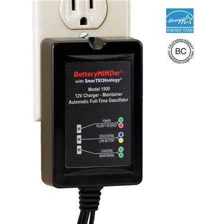 Batteryminder 1500 12 Volt 1 5 Amp Battery Charger