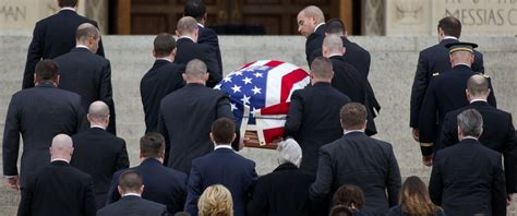 image gallery scalia funeral