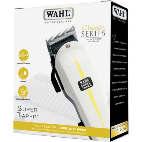 Hair Clipper Wahl Professional Taper Classic Electric 1 wahl 8467 830 classic series taper professional corded mains hair clipper