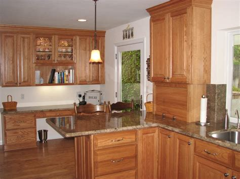 kitchens with light oak cabinets prewitt kitchen california kitchen creations