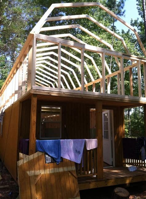 235 best images about from a shed to a home on pinterest 235 best shed cabin images on pinterest cabana barns