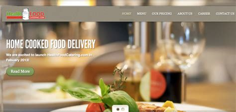 list of healthy home cooked food delivery services in