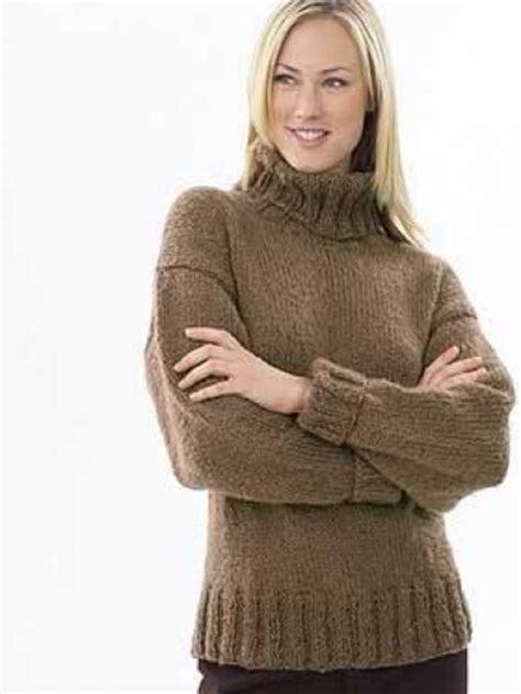 easy knit turtleneck sweater pattern turtleneck sweater free pattern knitting projects