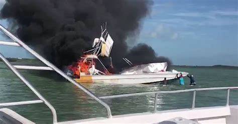 explosion on a boat boat explodes in the bahamas leaving 1 dead 9 injured