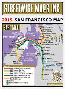 San Francisco Safety Map by San Francisco Map 2015 Streetwise 174 Maps