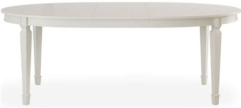White Extendable Dining Table Open Seating Reserved White Bryson Extendable Oval Dining Table From Somerton Dwelling 800r63