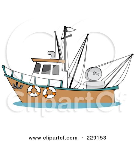 cartoon fishing boat clipart trawlers clipart clipground