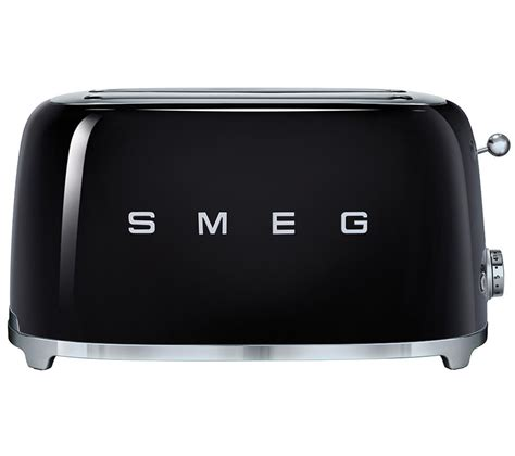 Black 4 Slice Toasters Buy Smeg Tsf02bluk 4 Slice Toaster Black Free Delivery
