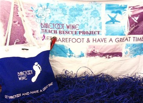 Barefoot Wine Giveaway On Facebook - support the beach rescue project and win barefoot wine summer gear 1 wine dude