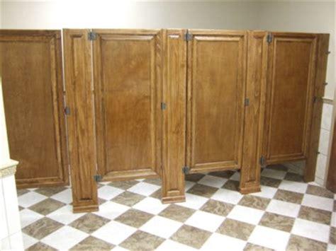 wood bathroom stalls bathroom partitions