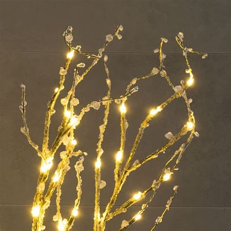 led 39 inch lighted brown branches bed bath beyond led light up branches gold west elm
