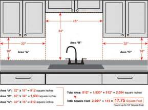 how to measure for kitchen backsplash stainless steel backsplash shop blog