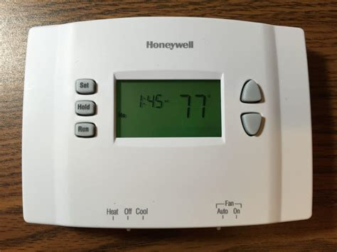 Honeywell Thermostat RTH2300 Programming Instructions   Share Your Repair