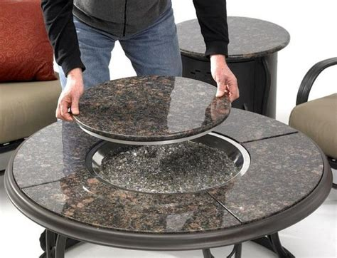 granite pit table costco granite table that can be made into a pit a great