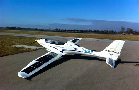 Electric Planes Pull The Other One by Solarworld E One Is An Electric Plane With 600