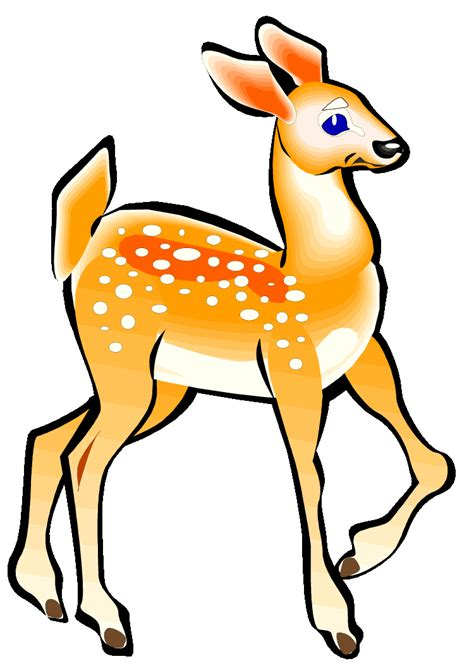 animated deer animated buck clipart best