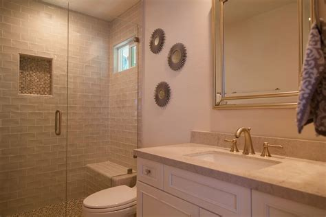 remodel bathtub to walk in shower beyond the master bath a traditional look for a guest and