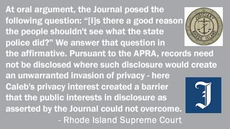 R I Court Records R I Supreme Court Denies The Providence Journal Access To Caleb Chafee Records