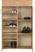 Venetia Shoe Storage Cabinet With Drawer by Oak Shoe Cabinet Shopstyle Uk