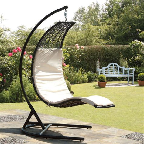 rattan garden swing seat new products at gardens and homes direct garden and gardener