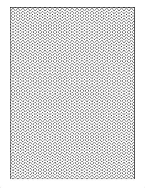 printable isometric paper template isometric graph paper 12 download free documents in pdf