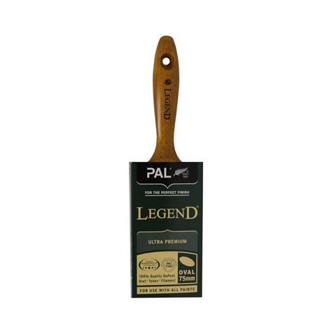 pal legend oval paint brushes