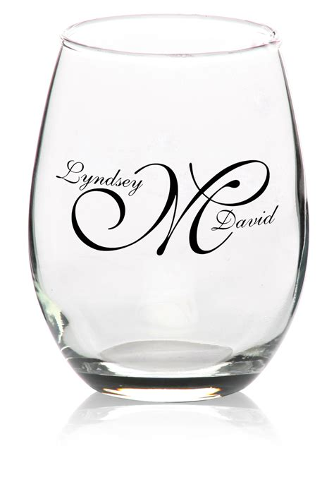 Monogrammed Barware Glasses Custom Wine Glasses In Bulk Louisiana Brigade