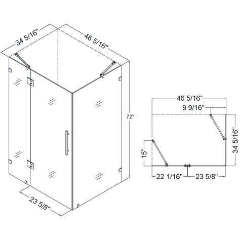 shower measurements bathroom shower stall dimensions roselawnlutheran
