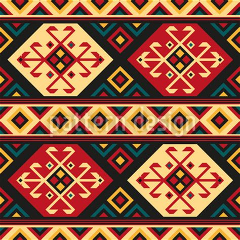 design is culture colorful kilim repeating pattern
