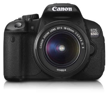 Kamera Canon Eos 650d Baru deeinform harga canon eos 650d kamera dslr terbaru 2012