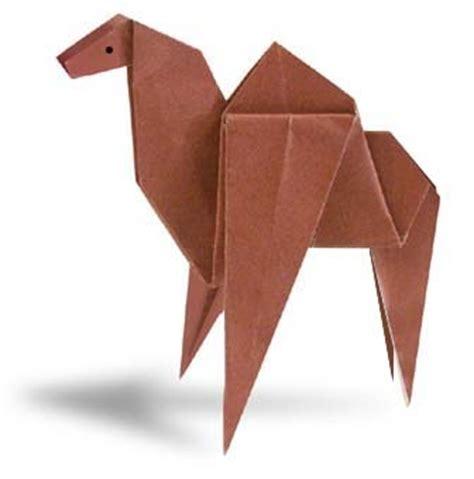 Camel Origami - camel origami folding diagram paper origami guide
