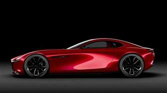 mazda shows the future of vroom with the rx vision concept